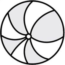 P600 Diameter Ball Pillow