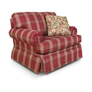 England Furniture Clare Chair And A Half Glider 5370-89