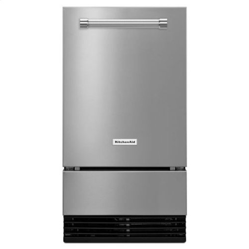 KitchenAid® 18'' Automatic Ice Maker with PrintShield™ Finish - PrintShield Stainless