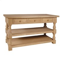 WC-10AB Tuscan Kitchen Island
