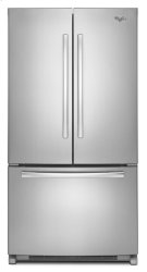 Whirlpool® 20 cu. ft. French Door Refrigerator with Counter Depth Styling Product Image