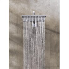 Head shower, wall mounted - Grey