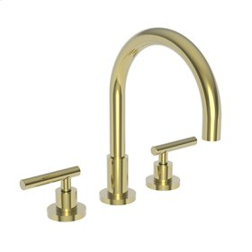 Uncoated Polished Brass - Living Kitchen Faucet