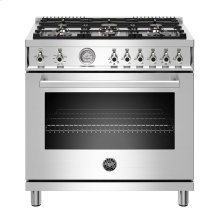"36"" Professional Series range - Gas oven - 6 brass burners - LP version"