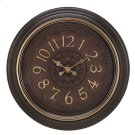 COFFEE FINISH WITH GOLD RING / BROWN 3D FACE WITH GOLD NUMBERS Product Image