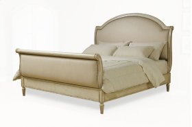 Provenance Queen Upholstery Sleigh Bed - Linen