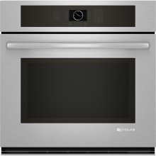 "Single Wall Oven, 30"", Euro-Style Stainless Handle"