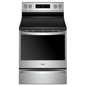 6.4 cu. ft. Freestanding Electric Range with Frozen Bake Technology - FINGERPRINT RESISTANT STAINLESS STEEL
