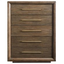Panavista Panorama Drawer Chest in Quicksilver