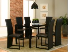 Como Dining Table & 6 Chairs