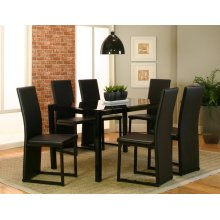 Como Dining Room Set: Table & 6 Chairs