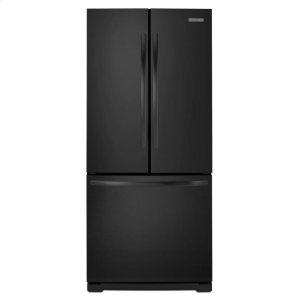KitchenAid20 Cu. Ft. Standard-Depth French Door Refrigerator, Architect® Series II - Black