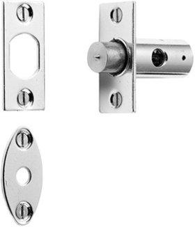 Chrome Plate Security door bolt