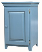 Pine 1 Door Console Cabinet Product Image