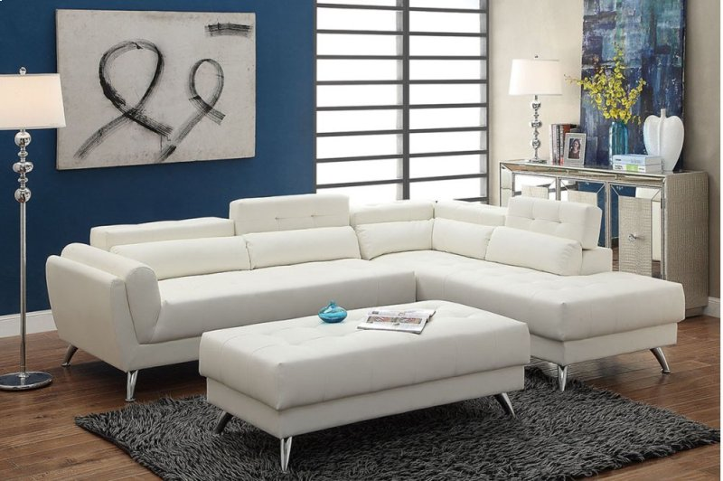 F6977 in by Poundex in Phoenix, AZ - 2-pcs Sectional Sofa