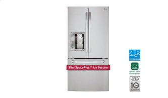 """33"""" French Door Refrigerator With Slim Spaceplus Ice System, 24 CU.FT."""