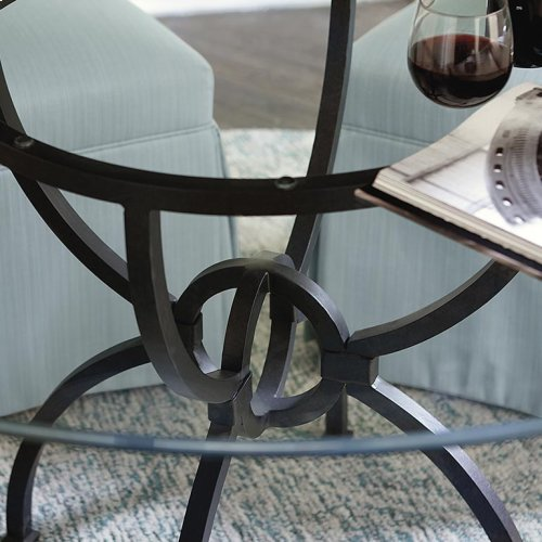 "Custom Dining 60"" Arts & Crafts Patina Table"