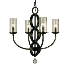 4-Light Compass Dining Chandelier