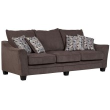 Ventura Gray Sofa, Love, Chair, U0060