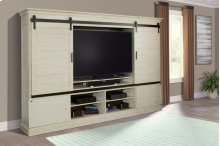 4pc Sliding Door Entertainment Wall