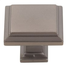 Sutton Place Square Knob 1 1/4 Inch - Slate