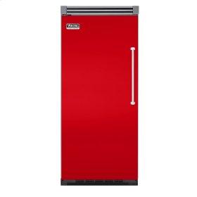 """Racing Red 36"""" Quiet Cool™ All Freezer - VIFB Tru-Flush™ (Left Hinge Door)"""