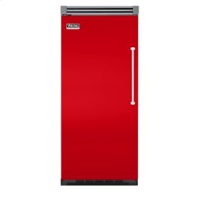 "Racing Red 36"" Quiet Cool™ All Freezer - VIFB Tru-Flush™ (Left Hinge Door)"
