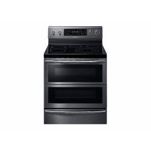 Samsung Appliances5.9 cu. ft. Freestanding Electric Range with Flex Duo™ & Dual Door in Black Stainless Steel