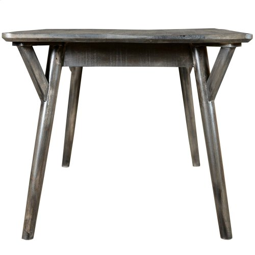 Mira Rectangular Dining Table in Distressed Grey