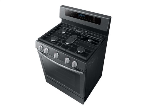 5.8 cu. ft. Freestanding Gas Range with True Convection