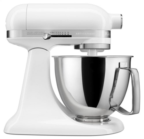 Artisan® Mini 3.5 Quart Tilt-Head Stand Mixer - White