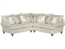 Paula Deen by Craftmaster Living Room Stationary Sectionals