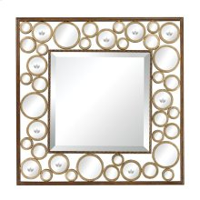 METAL MIRROR WITH 1-inch BEVEL