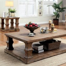 Granard Coffee Table W/ Wooden Top