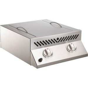 Napoleon GrillsBuilt-in Flat Top SIZZLE ZONE Two Infrared Burners , Stainless Steel , Natural Gas