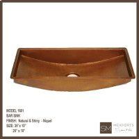 1601 Rectangular Bar Sink Product Image