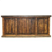 Laguna Recycled Wood W/ 3 Reclaimed Wood Panels Product Image