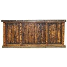 Laguna Recycled Wood W/ 3 Reclaimed Wood Panels