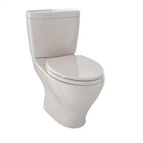 Aquia II Dual Flush Two-Piece Toilet, 1.6 GPF & 0.9 GPF, Elongated Bowl - Bone