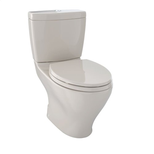 Aquia II Dual Flush Two-Piece Toilet, 1.6 GPF & 0.9 GPF, Elongated Bowl - Bone