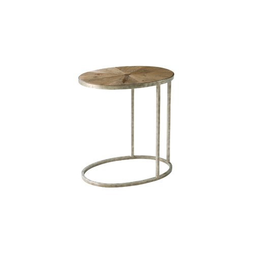 Sunburst Cantilever Accent Table, Echo Oak