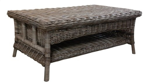 Coffee Table, Available in Rustic Grey Finish Only.