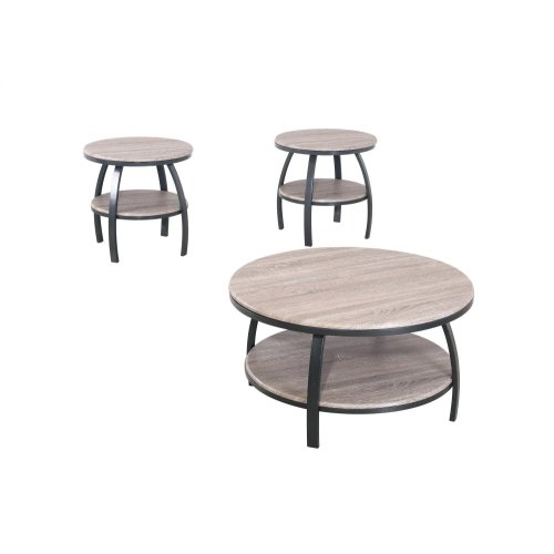 Emerald Home Carson Round Cocktail Table-t226-00-03