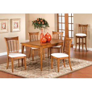 Hillsdale FurnitureBayberry 5pc Rectangle Dining Set - Oak
