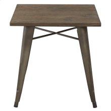 Modus Dining Table in Gunmetal