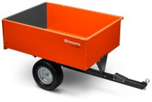 16' Steel Swivel Dump Cart