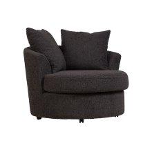 Fuzzy Wuzzy Swivel Cuddler Chair, AC820