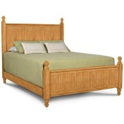 Cottage Queen Headboard / Footboard / Rails. Also Available in King, Queen, Full, Twin Product Image