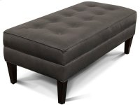 Lanier Cocktail Ottoman 387AL Product Image