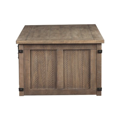 Rect Storage Cocktail Table